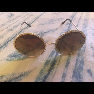 Cubic Zirconia Rimmed Trendy a Shades